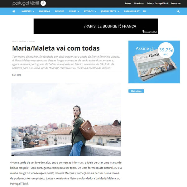 Maria Maleta interview by Portugaltextil