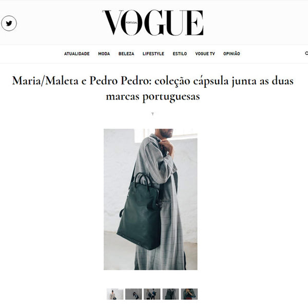 Capsule Collection Maria Maleta by Pedro Pedro na Vogue