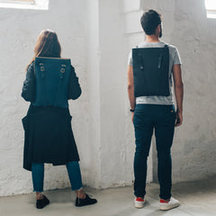 LAPTOP BACKPACK LEATHER WOMANS MENS