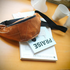 bum bag brown leather