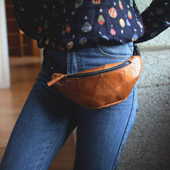 belt bag womens leather