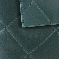 leather-pine-green