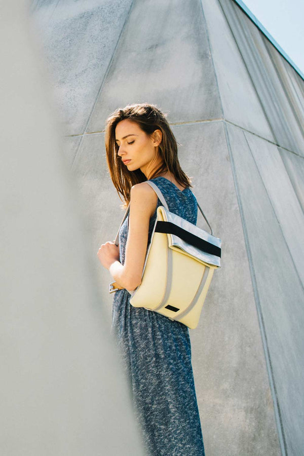 women-backpack-yellow-leather