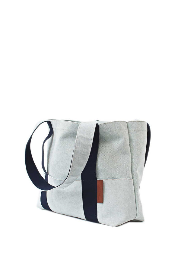 Large Beach Bag in light blue