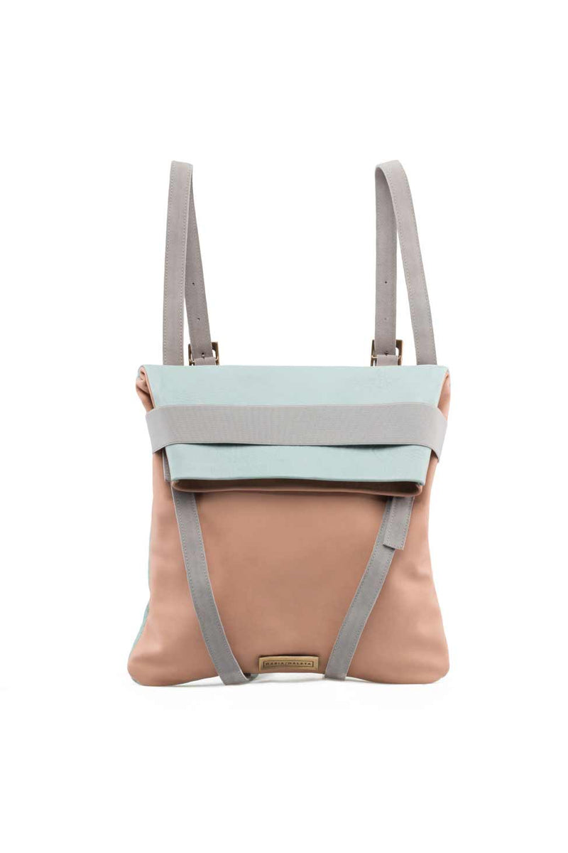 Backpack-Leather-soft-pink-and-ligth-blue1