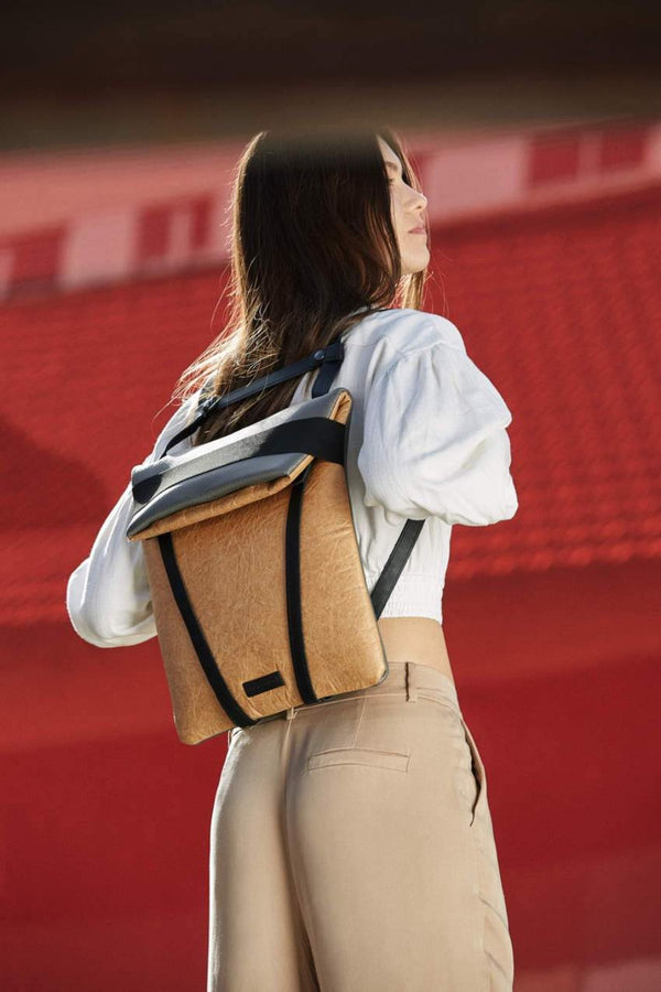 women backpack brand vegan leather