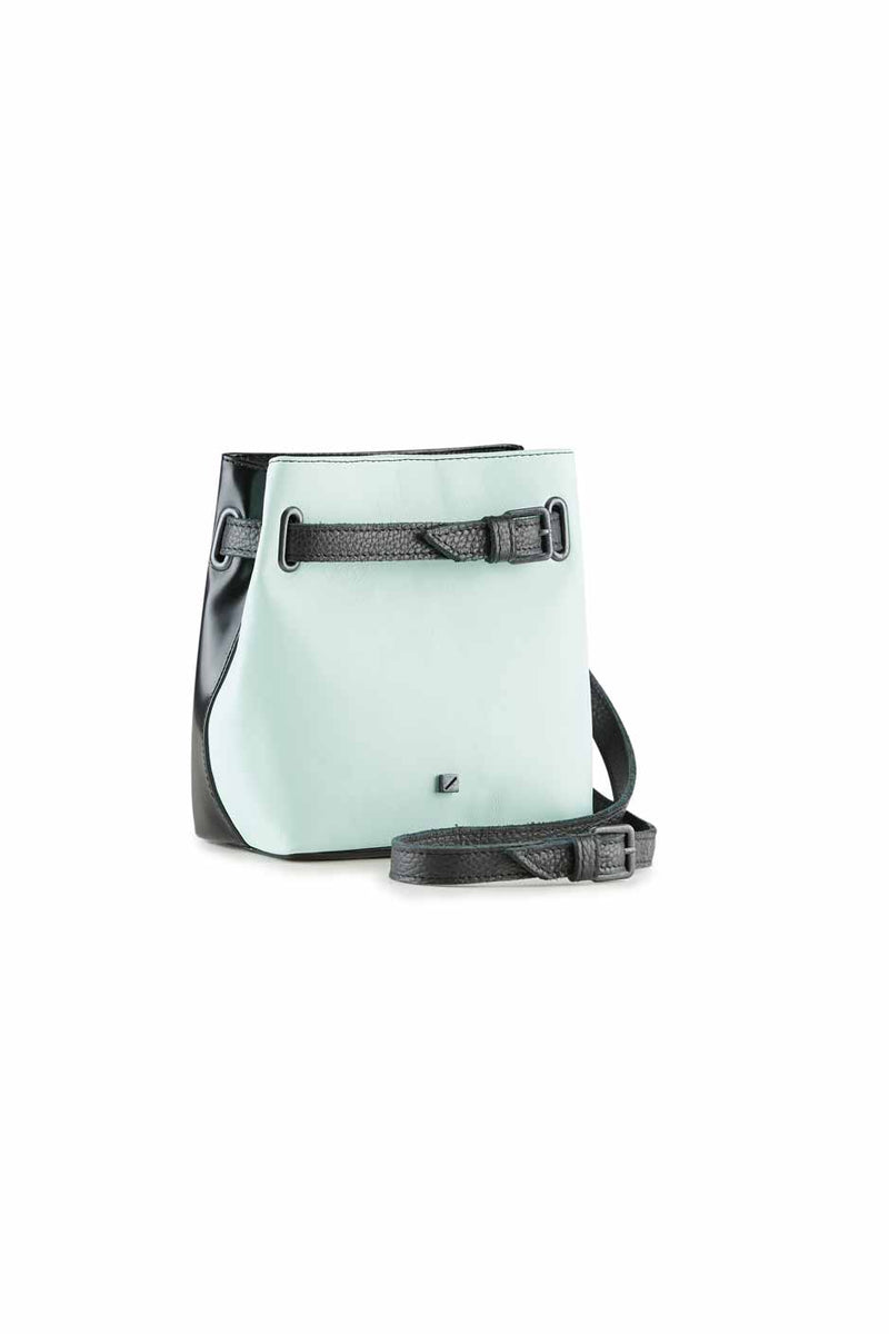 belt bag mint blue for women