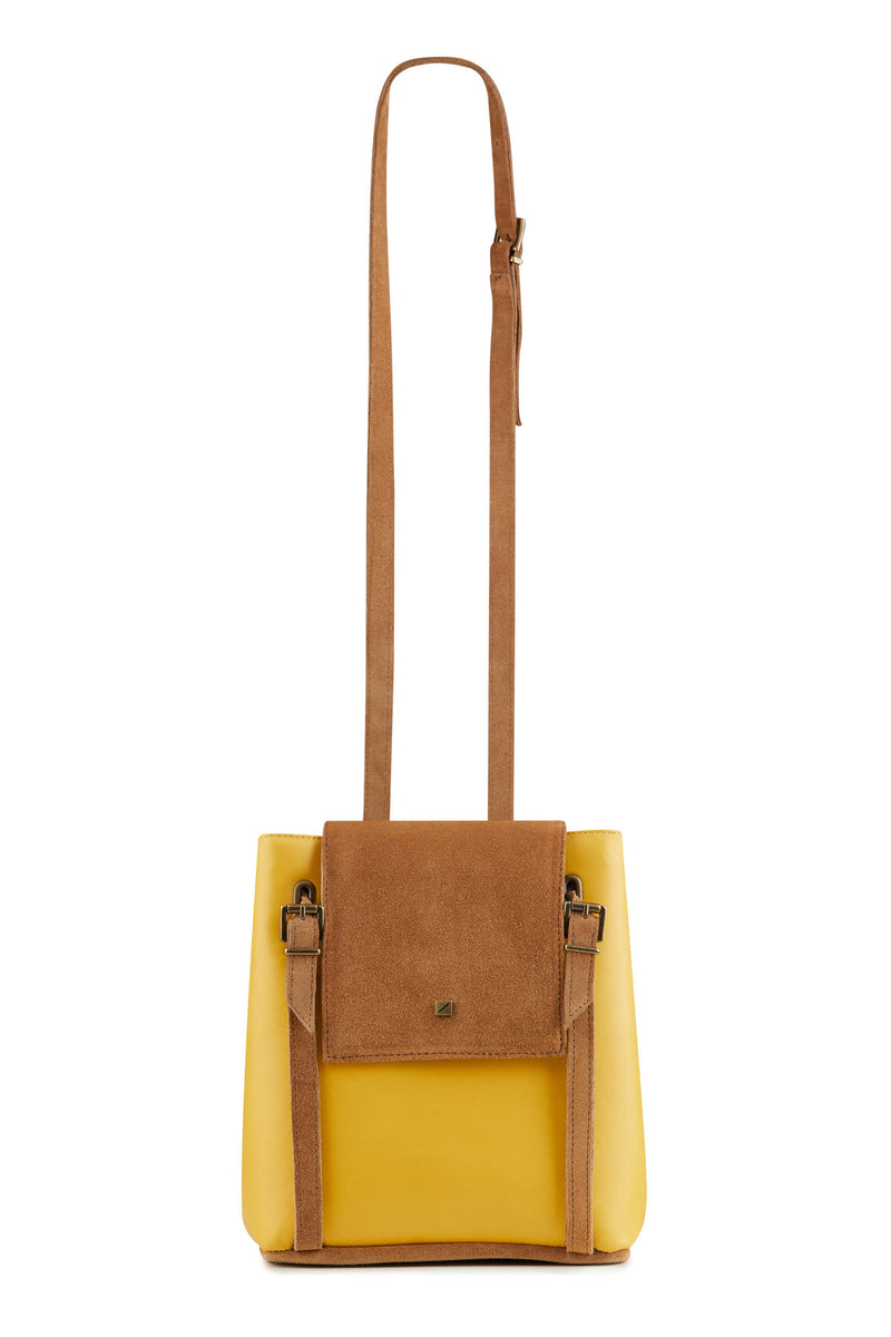 Crossbody bag for women IN YELLOW