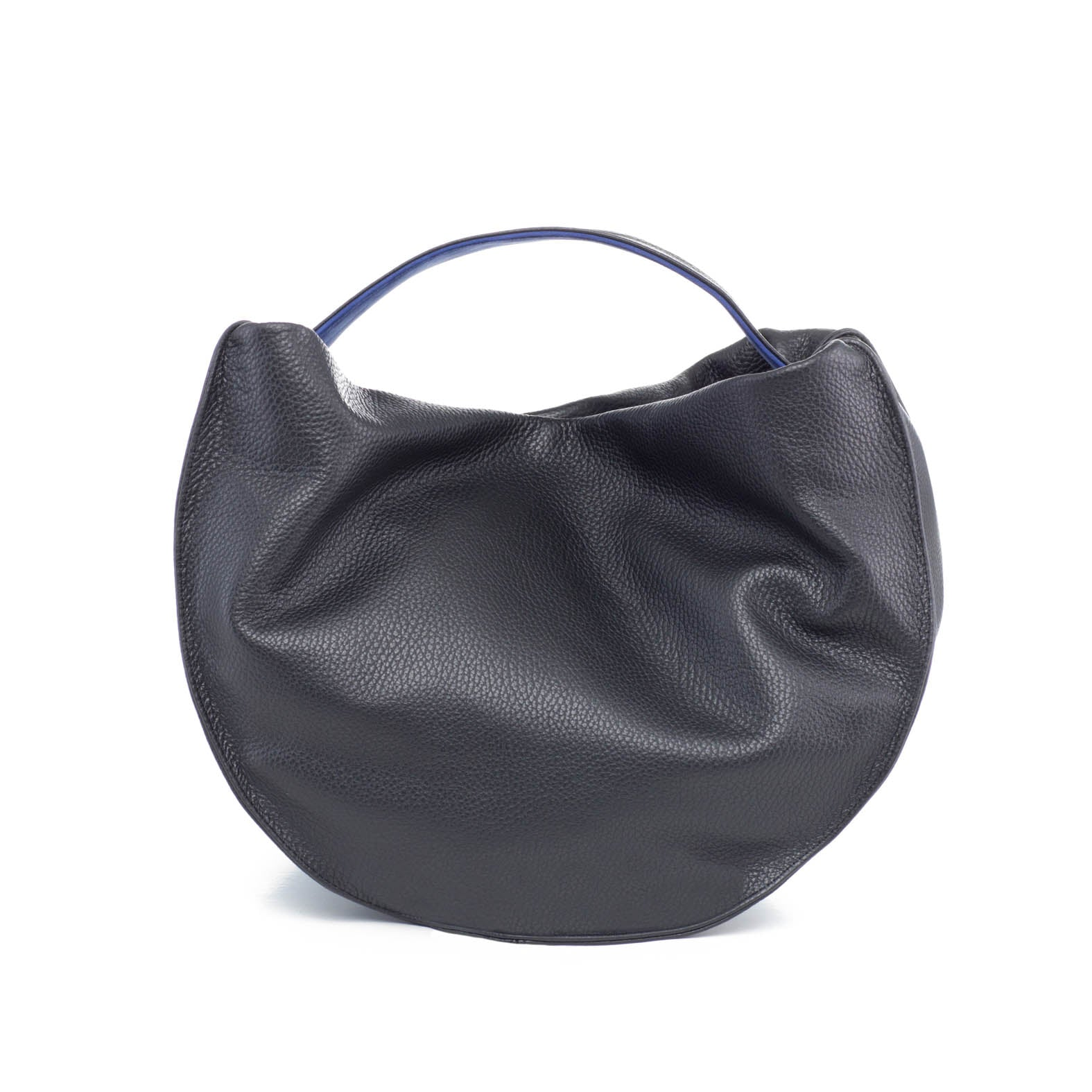 black hobo handbags in leather