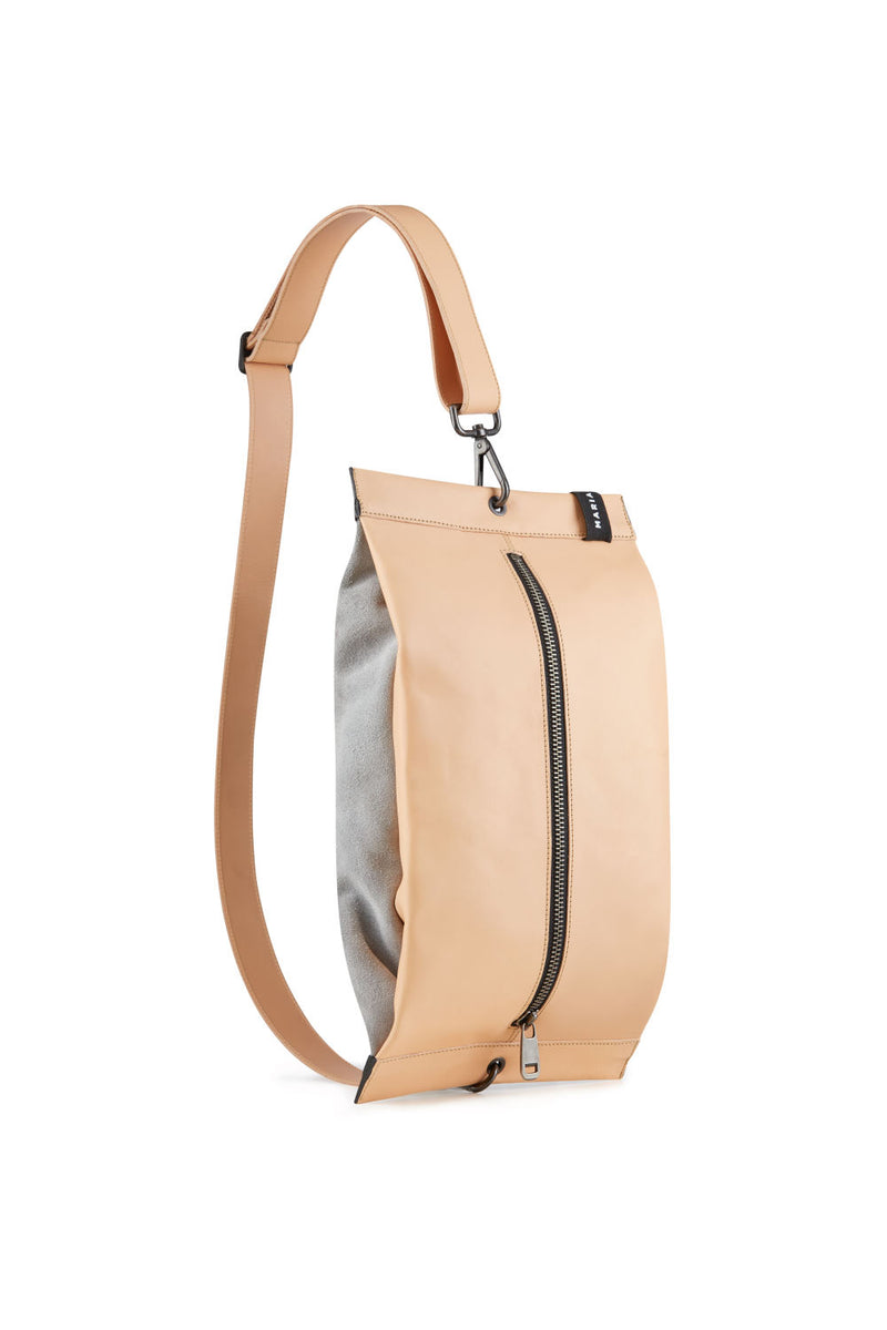 Women crossbody bag vegetable leather