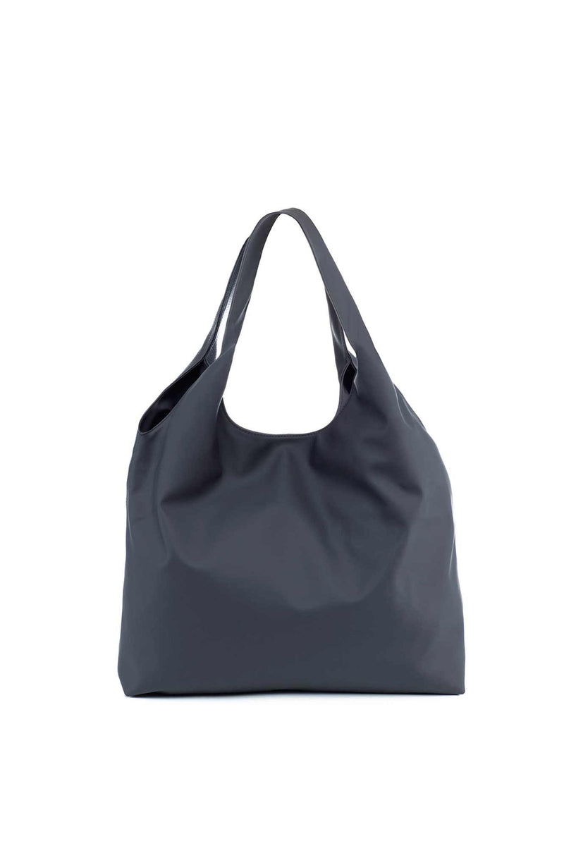 shoulder bag black nylon