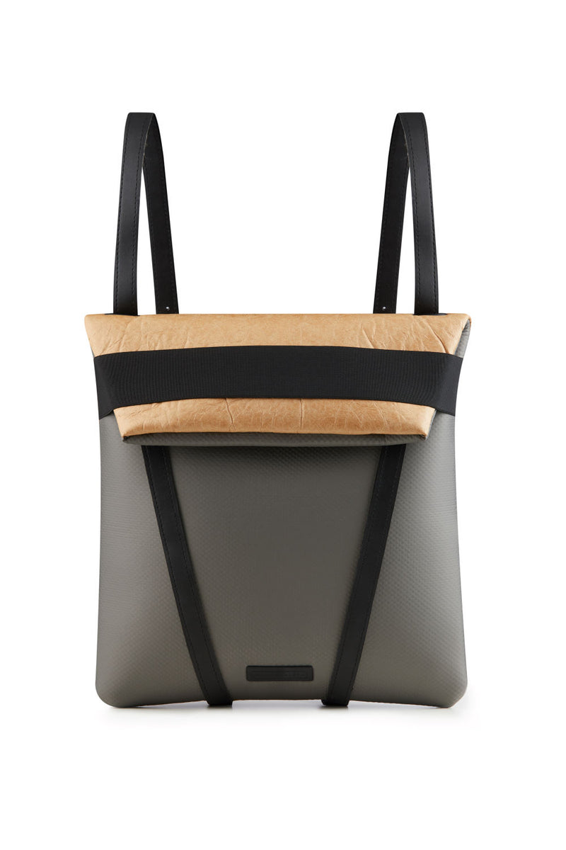 women backpack in vegan material