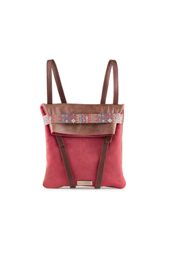 WOMEN-BACKPACK-BROWN-AND-RED-LEATHER1