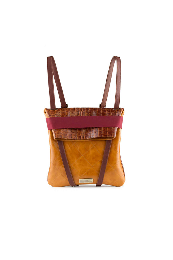 WOMEN-BACKPACK-BROWN-LEATHER-DESIGN