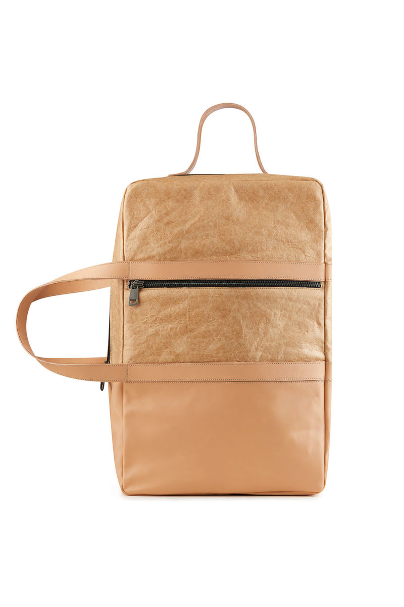 Weekend-bag-Nude-Vegetable-tanned-leather
