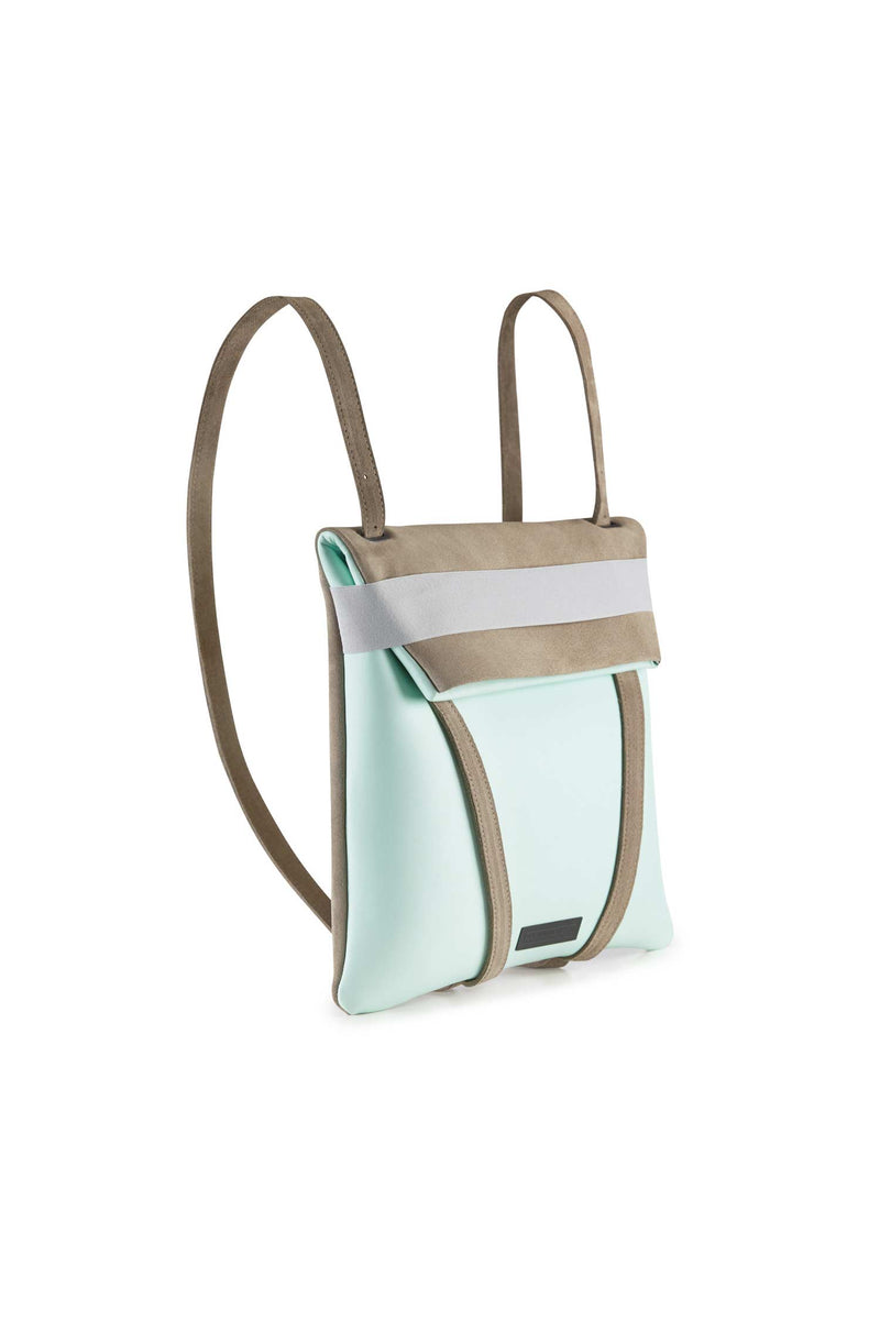 backpack womens mint blue