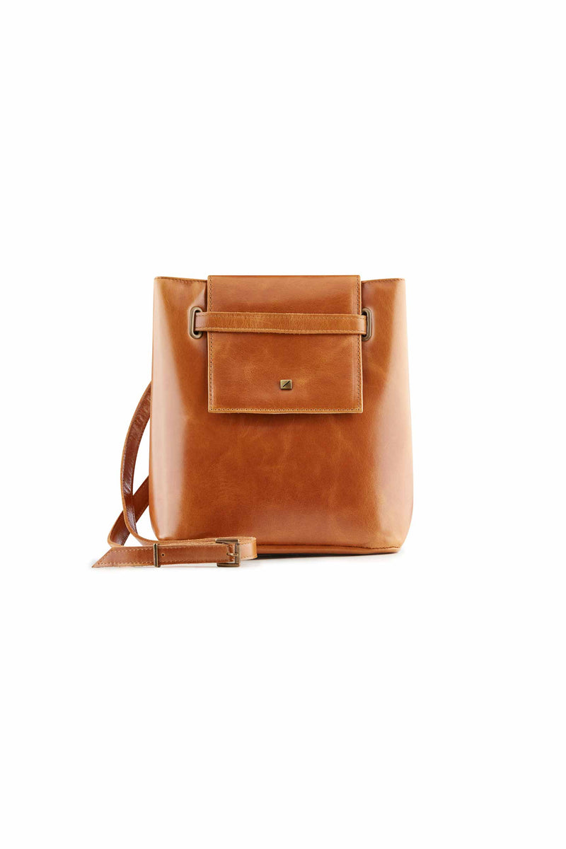 crossboday bag brown leather brand