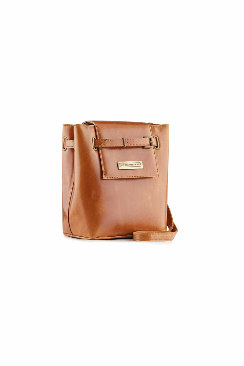 women small SHOULDER BAG CLASSIC BROWN