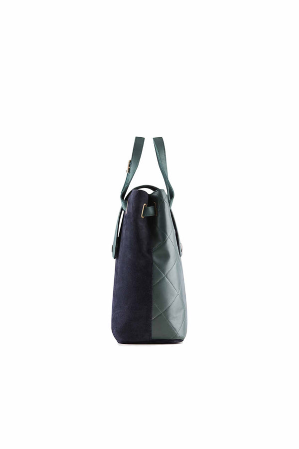 shoulder bag with two colors