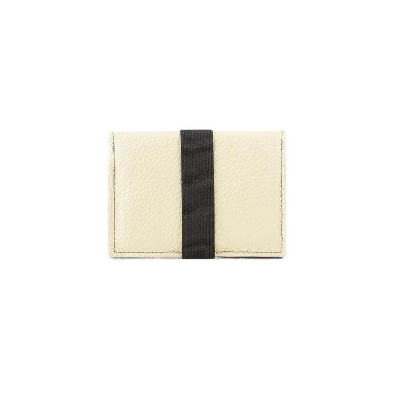 Slim wallet leather minimalist