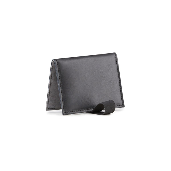 black wallet slim design card