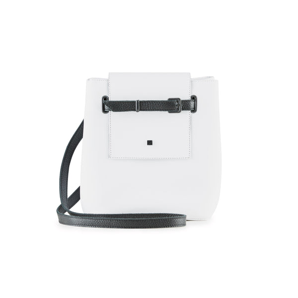 white shoulder bag women