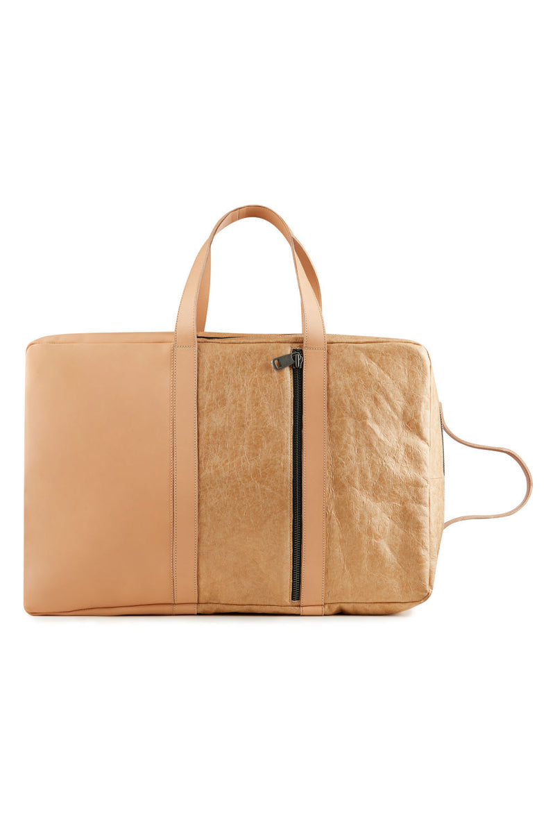 women-Weekend-handbag-beige-leather