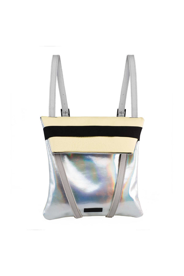 women backpack holographic