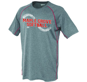 MG SOFTBALL - SHORT SLEEVE PERFORMANCE SHIRT