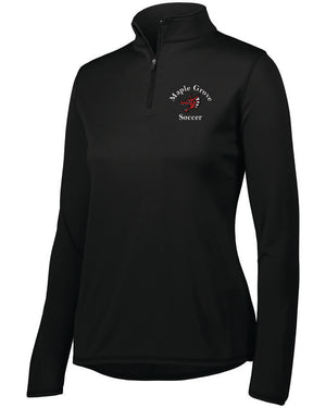 MG SOCCER - WOMENS' PERFORMANCE QUARTER-ZIP