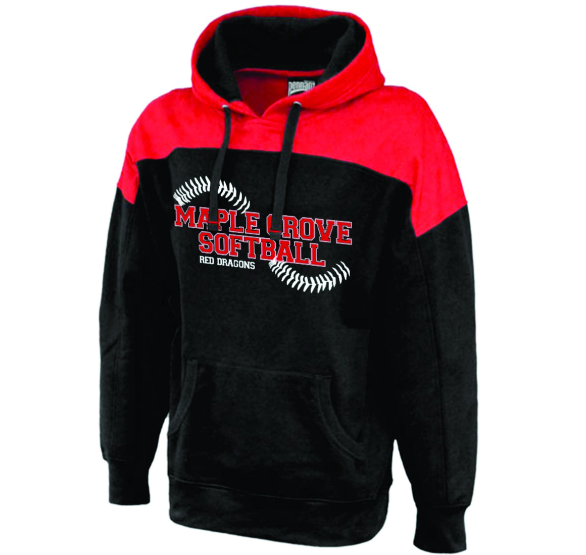 MG SOFTBALL - HOODED SWEATSHIRT