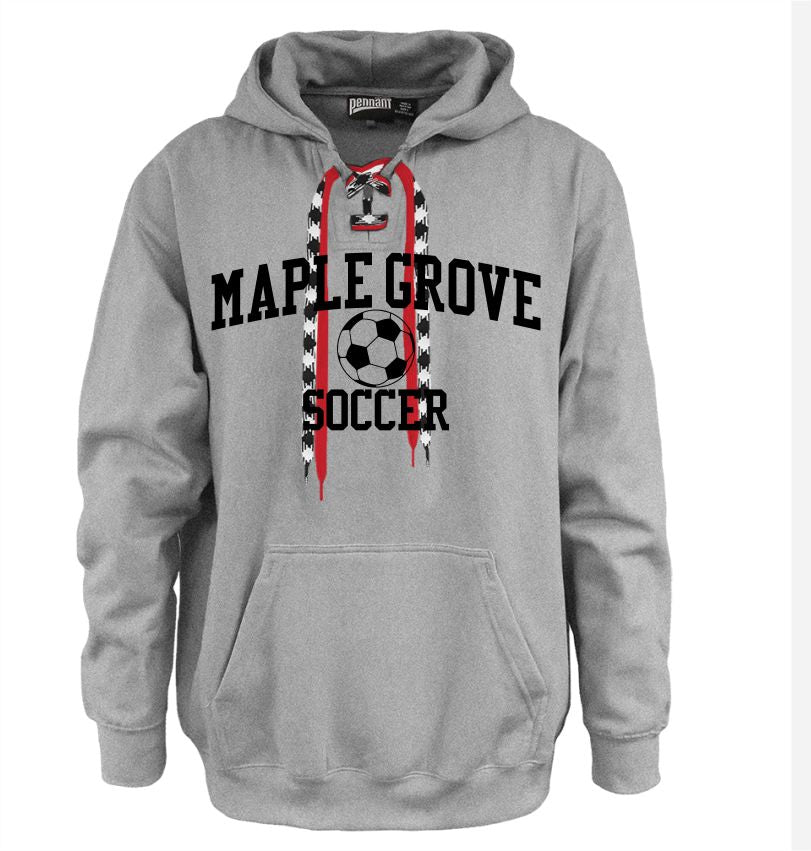 MG SOCCER2019 -LACE UP HOODIE