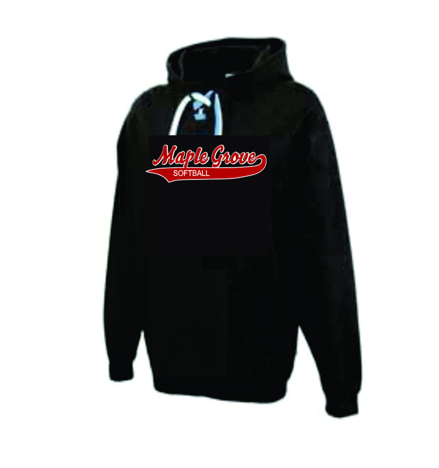 Copy of Hooded Sweatshirt - Black