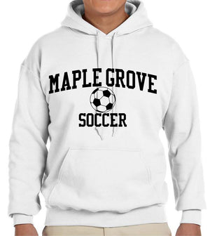 MG SOCCER2019 - HOODED SWEATSHIRT - ADULT AND YOUTH