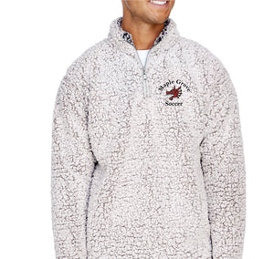 MG SOCCER - MENS SHERPA QUARTER-ZIP