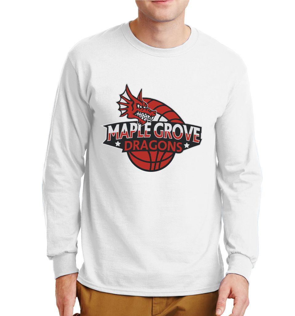 MG BASKETBALL - LONG SLEEVE TSHIRT