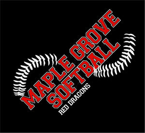 MG SOFTBALL - FLEECE BLANKET