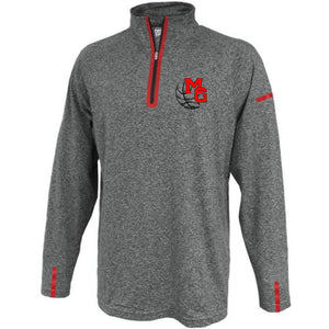 MG BASKETBALL - 1/4 ZIP PERFORMANCE SHIRT