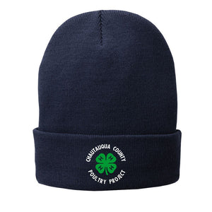 4H - FLEECE-LINED KNIT BEANIE