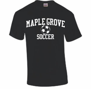 MG SOCCER2019 - SHORT SLEEVE TSHIRT- ADULT AND YOUTH