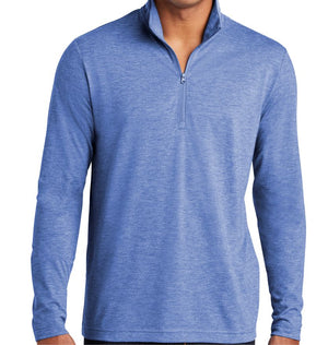 ZION - TRIBLEND WICKING QUARTER ZIP - MEN'S