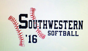 Southwestern Softball   T Shirt