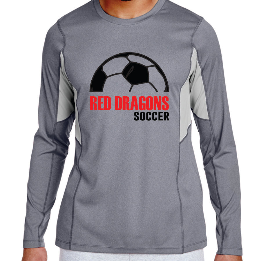 MG SOCCER - LONG SLEEVE PERFORMANCE TSHIRT