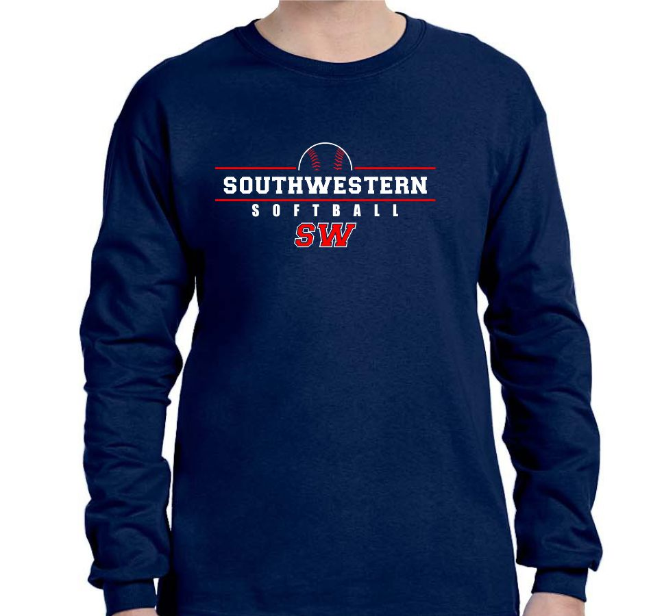 SOUTHWESTERN SOFTBALL - LONG SLEEVE TSHIRT