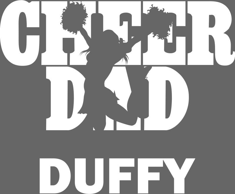 FREWSBURG CHEER DAD WINDOW STICKER