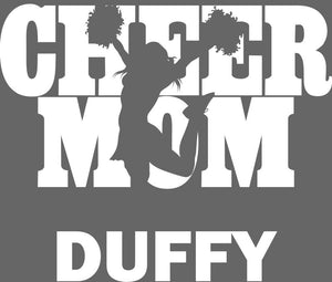 FREWSBURG CHEER MOM WINDOW STICKER