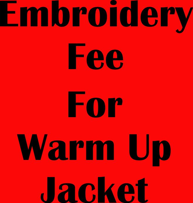 MG BASKETBALL - EMBROIDERY FEE FOR NAME