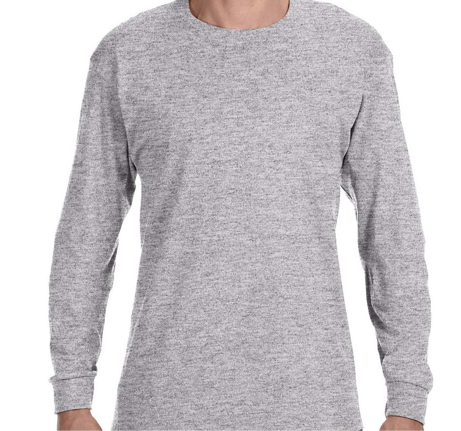 ZION - MEN'S LONG SLEEVE TSHIRT- SOFTSTYLE COTTON