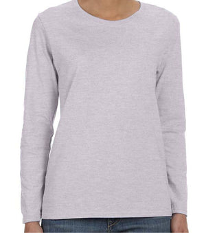 ZION - WOMEN'S LONG SLEEVE TSHIRT - SOFTSTYLE COTTON