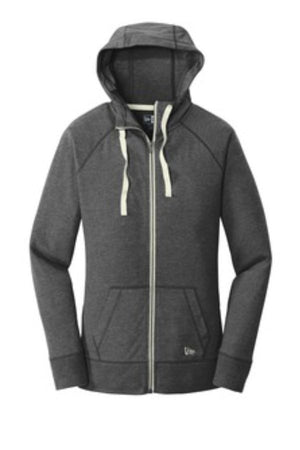 ST STORM - WOMEN'S NEW ERA SUEDED COTTON FULL ZIP HOODIE